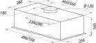 Вытяжка MAUNFELD Crosby Light (C) 60 Inox 7