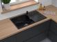 Кухонная мойка GRANFEST Level GF-LV-860L черный 1