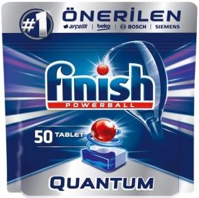 Таблетки для посудомоечных машин FINISH Quantum 50шт