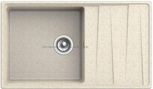 Кухонная мойка GRANFEST Level GF-LV-860L бежевый