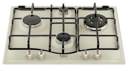Газовая варочная поверхность HOTPOINT-ARISTON PC 640 T (OW)/R