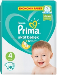 Подгузники PAMPERS Mini 4 (9-14 кг), 40 шт.