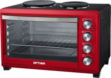 Мини-печь OPTIMA OH-423 red