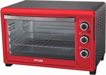 Мини-печь OPTIMA OH-453 red