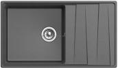 Кухонная мойка GRANFEST Level GF-LV-860L графит