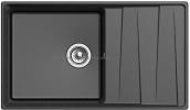 Кухонная мойка GRANFEST Level GF-LV-860L черный
