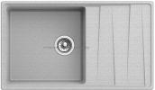 Кухонная мойка GRANFEST Level GF-LV-860L серый