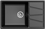Кухонная мойка GRANFEST Vertex GF-V-780L черный