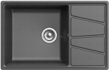 Кухонная мойка GRANFEST Vertex GF-V-780L графит